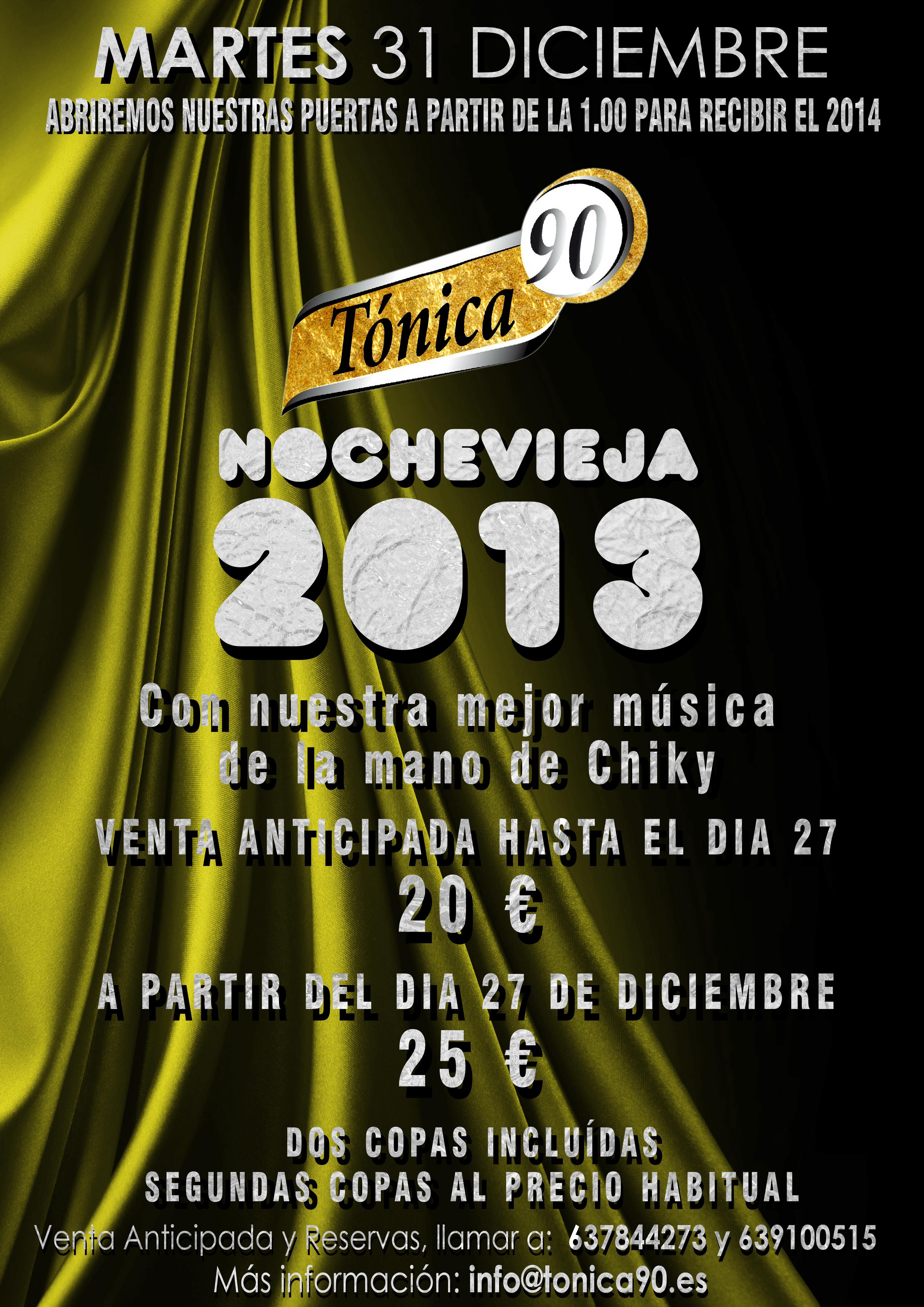 Fiesta nochevieja 2013