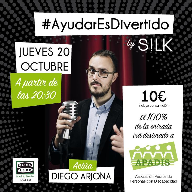 Ayudar es Divertido APADIS Diego Arjona